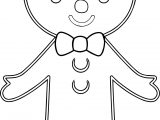 Gingerbread Man Free Gingerbread House Images Coloring Page