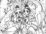 Glitter Force All Girls Coloring Pages