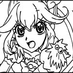 Glitter Force Image Coloring Page