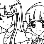 Glitter Force Picture Coloring Page