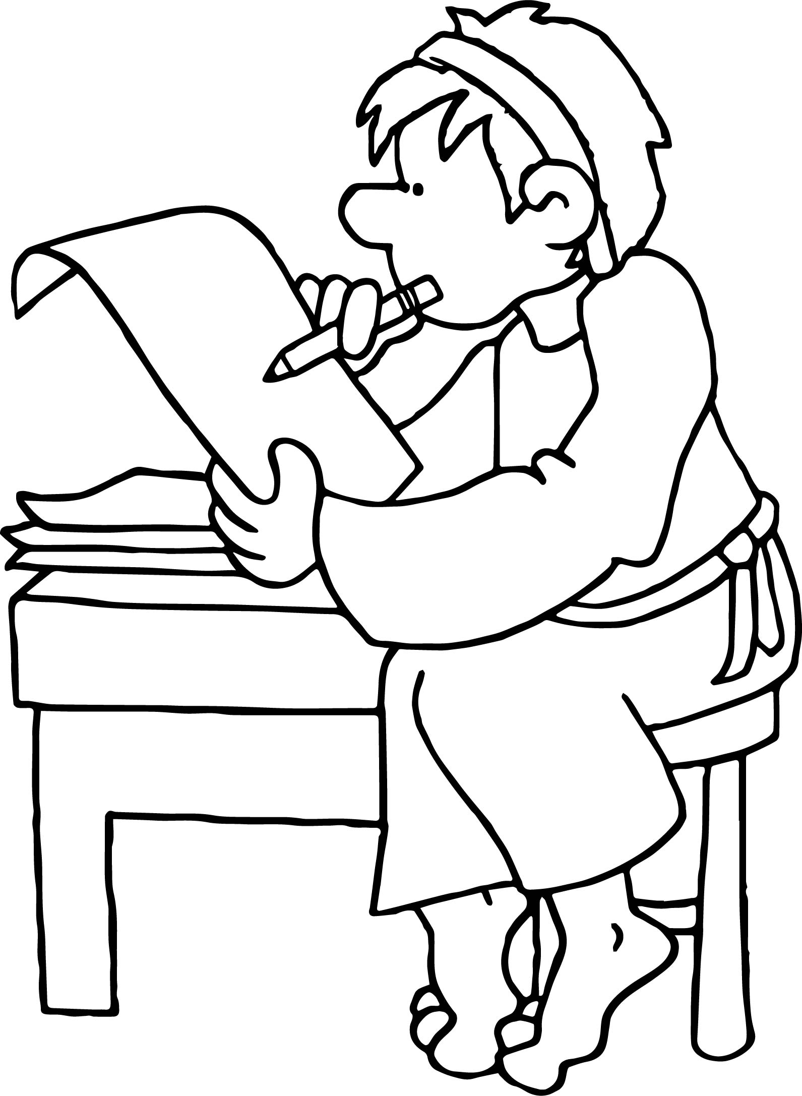Good Apostle Paul Coloring Page