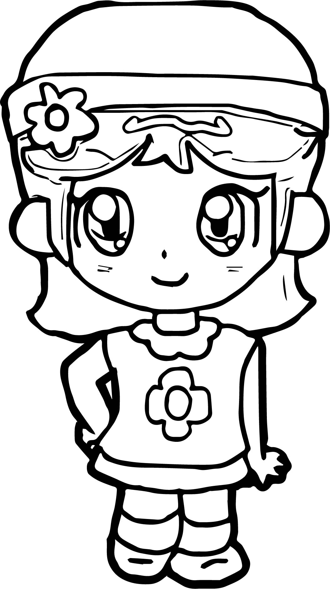 Good Daisy Coloring Page
