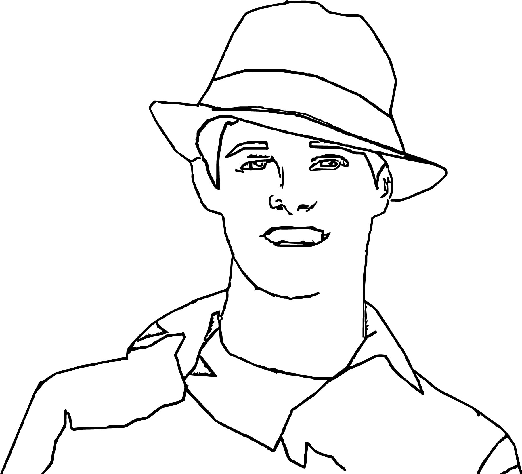 High School Musical Characters Ryan Evans Coloring Pages
