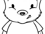 How To Draw Baby Pooh Coloring Page