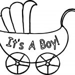 It A Boy Baby Boy Pictures Coloring Page
