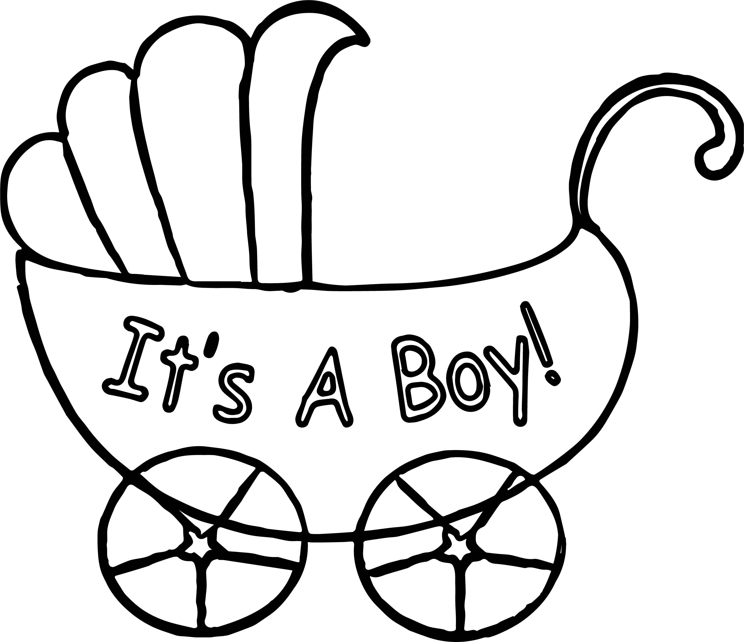 it a boy baby boy pictures coloring page wecoloringpage