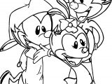 It S Time For Animaniacs Coloring Page