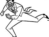 Joker Run Coloring Page
