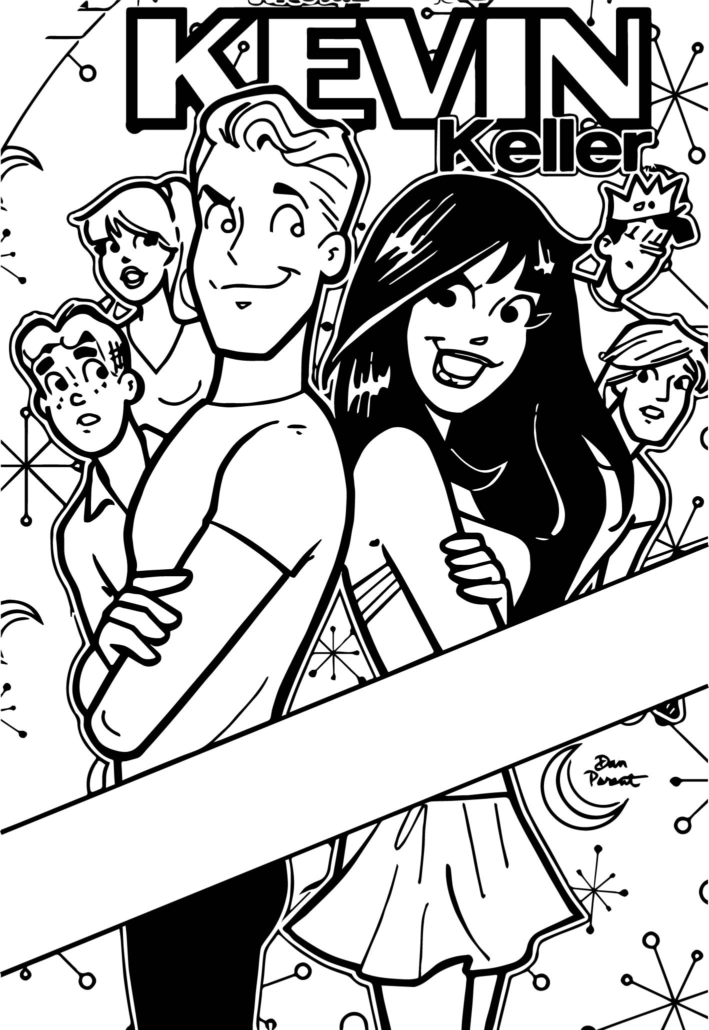 Kevin Keller Coloring Page
