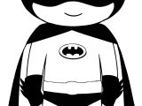 Kid Batman Coloring Page