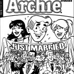 Life Archie Just Married Coloring Page