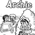 Little ARCHIE Coloring Page