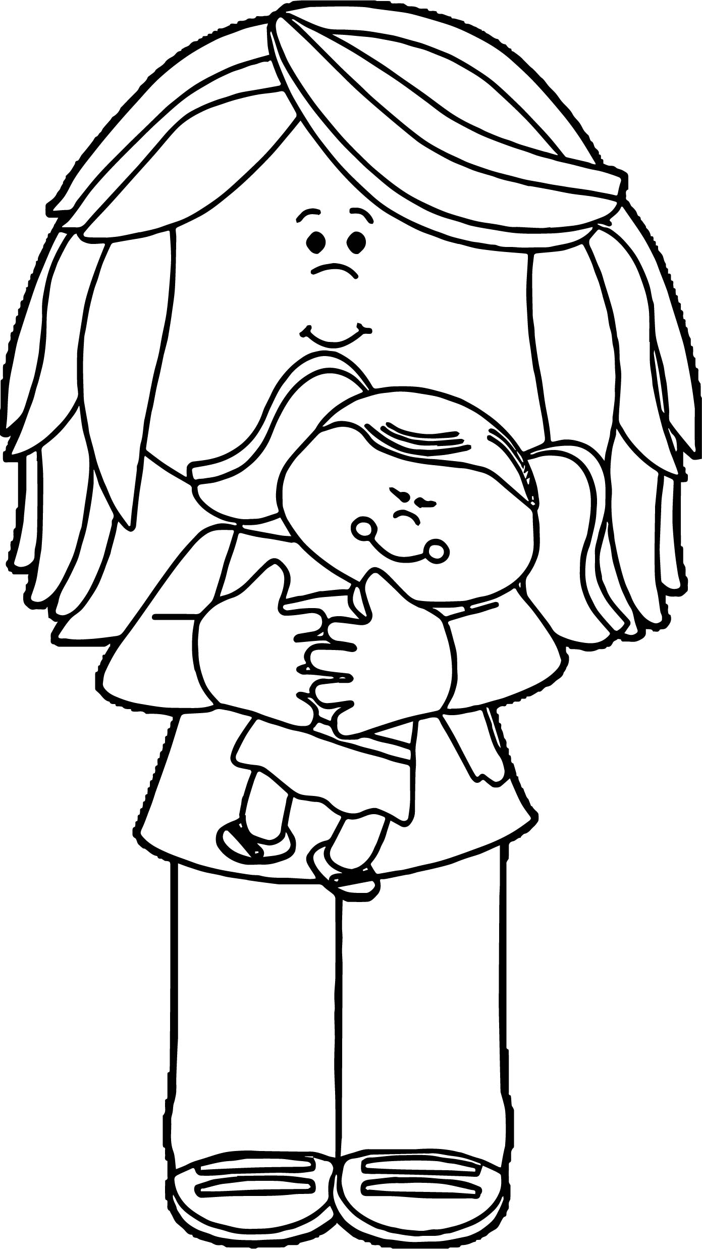 baby doll coloring pages home printable coloring pages