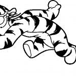 Lively Tigger Coloring Page