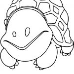 Lovely Tortoise Turtle Coloring Page