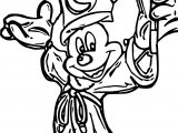 Magic Mickey Mouse Coloring Pages