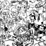 Me And The Animaniacs Coloring Page