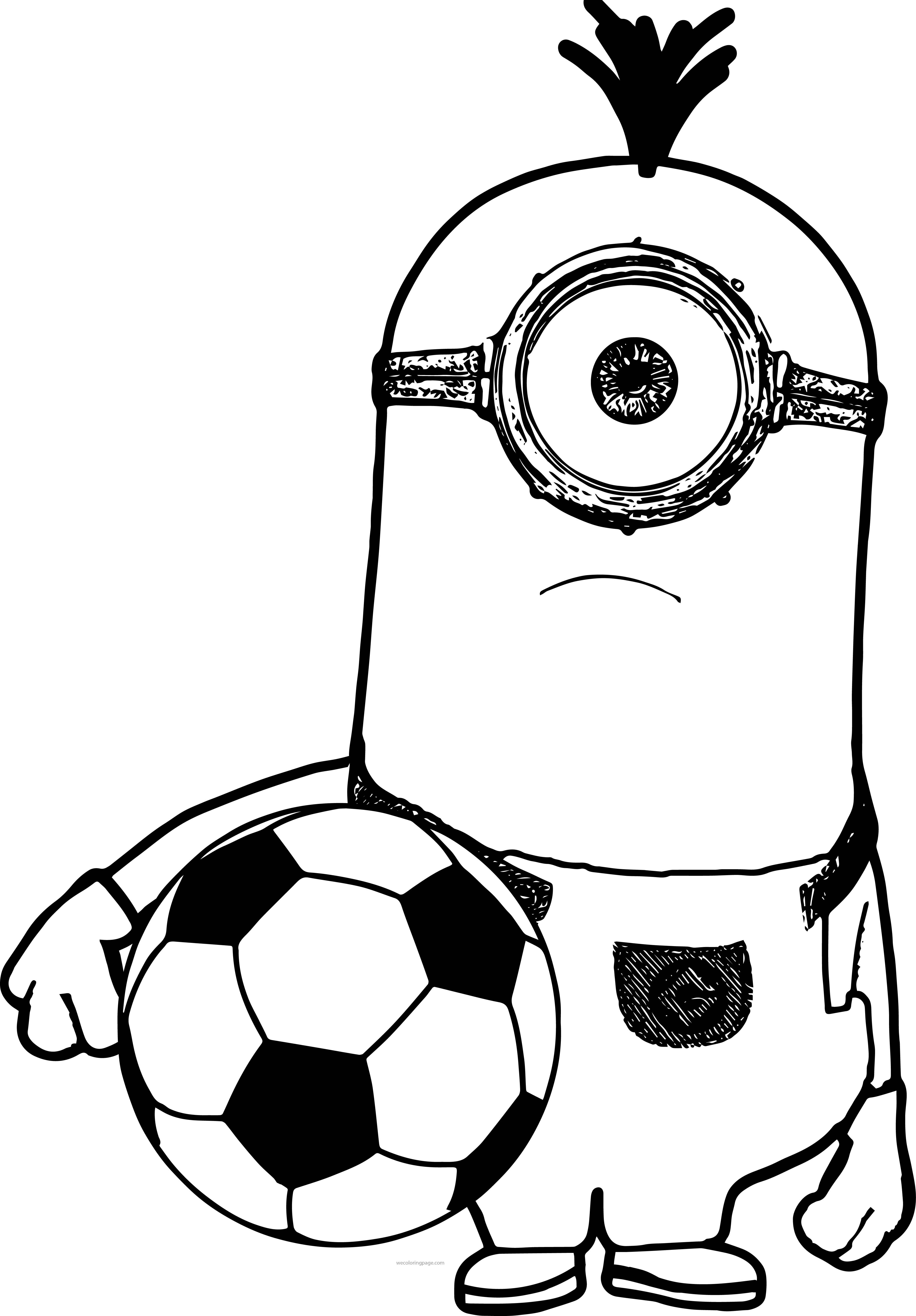 Minion Or Minions Soccer Selfie