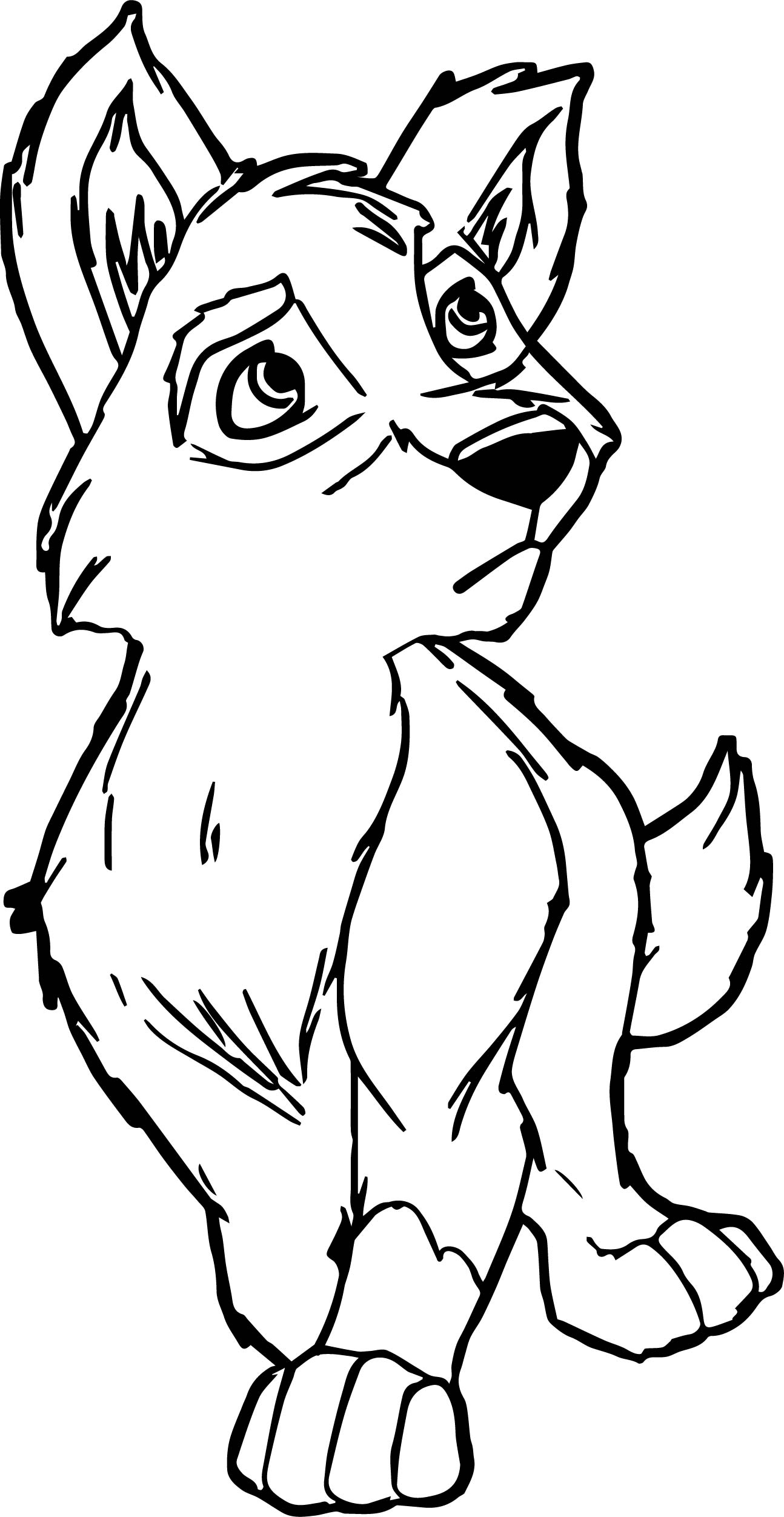 New Young Balto Coloring Page