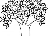 Nice Apple Tree Coloring Page