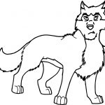 Nuk Balto Wolf Coloring Page