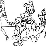 Old Art The Animaniacs Coloring Page