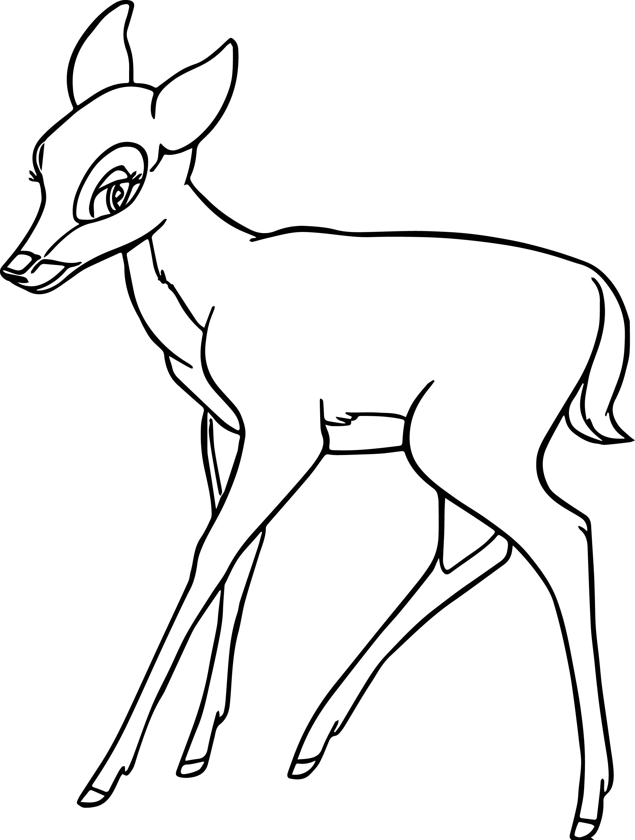 One Faline Coloring Pages