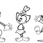 Pc The Animaniacs Coloring Page