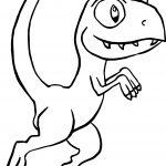 Raptor Doodleblob Coloring Page