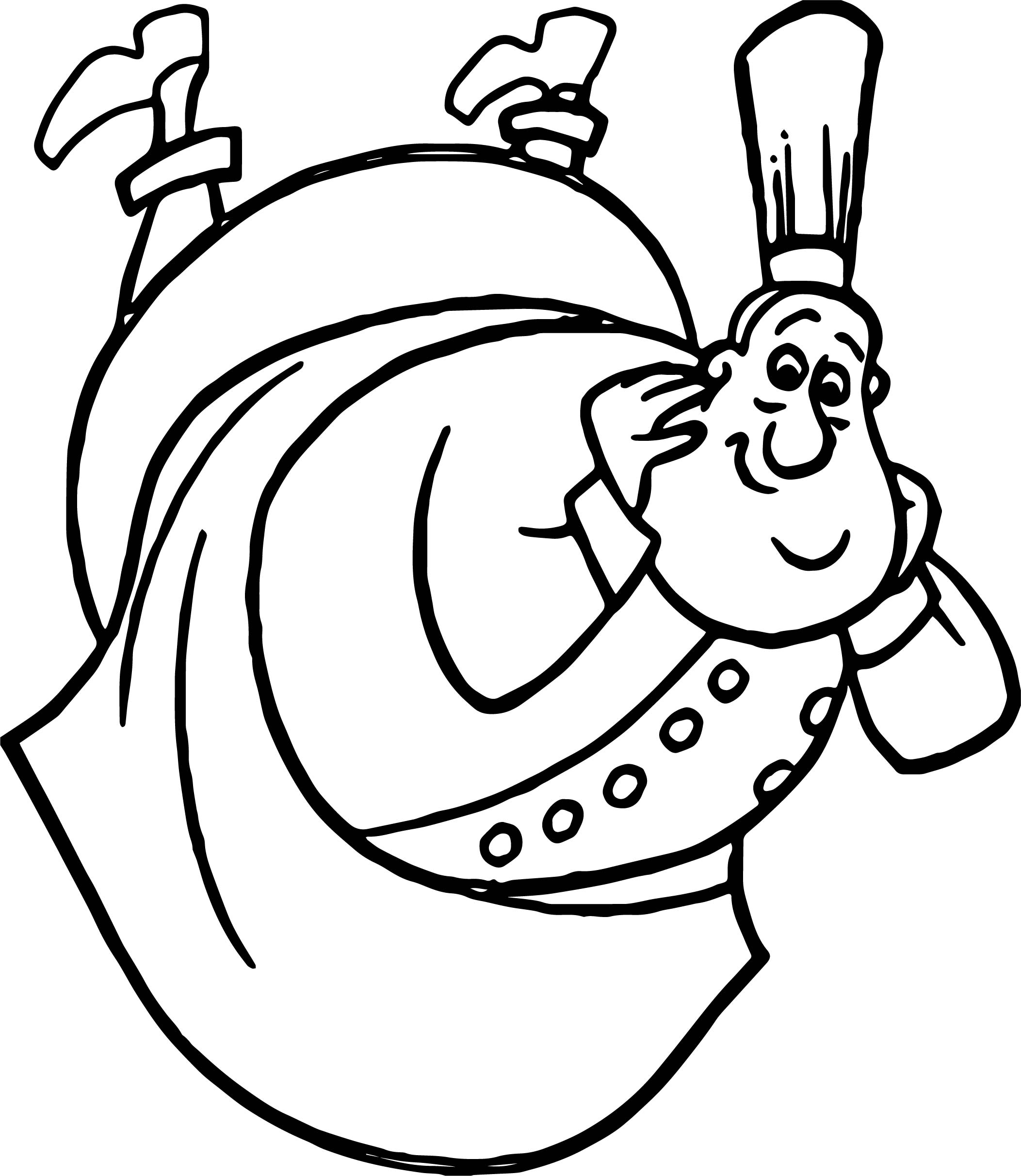 Ratatouille Mouse Auguste Gusteau Coloring Pages
