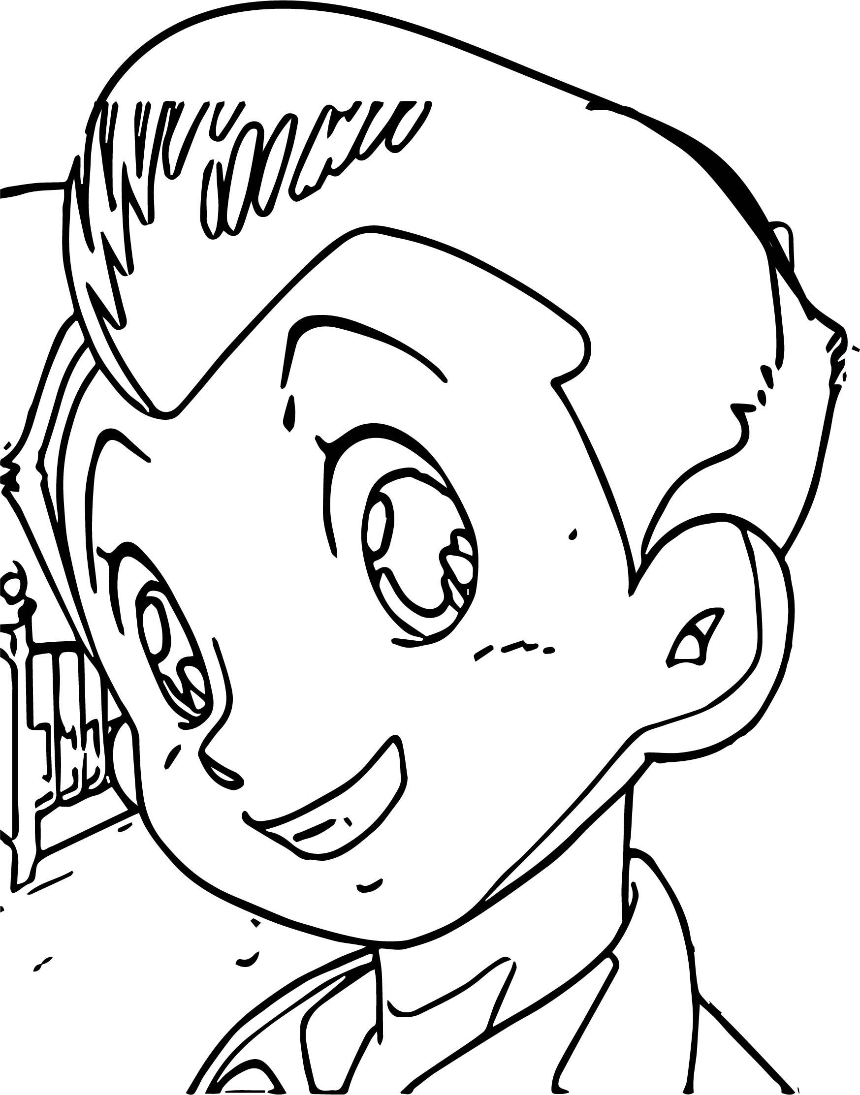 Reno Astro Boy Coloring Page