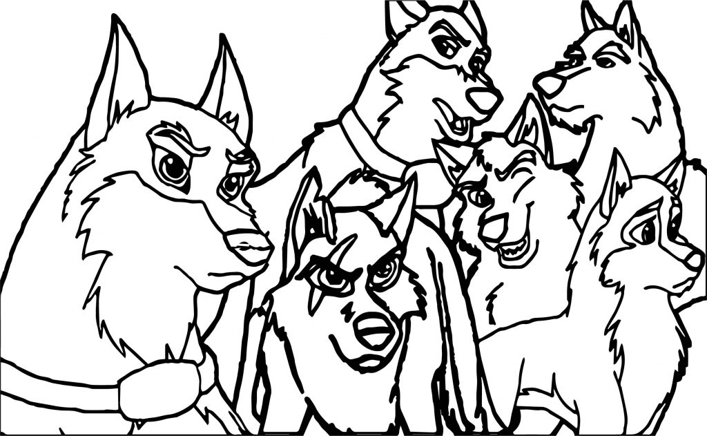 Luxury Balto 3 Coloring Pages Composition - Coloring Page Ideas ...
