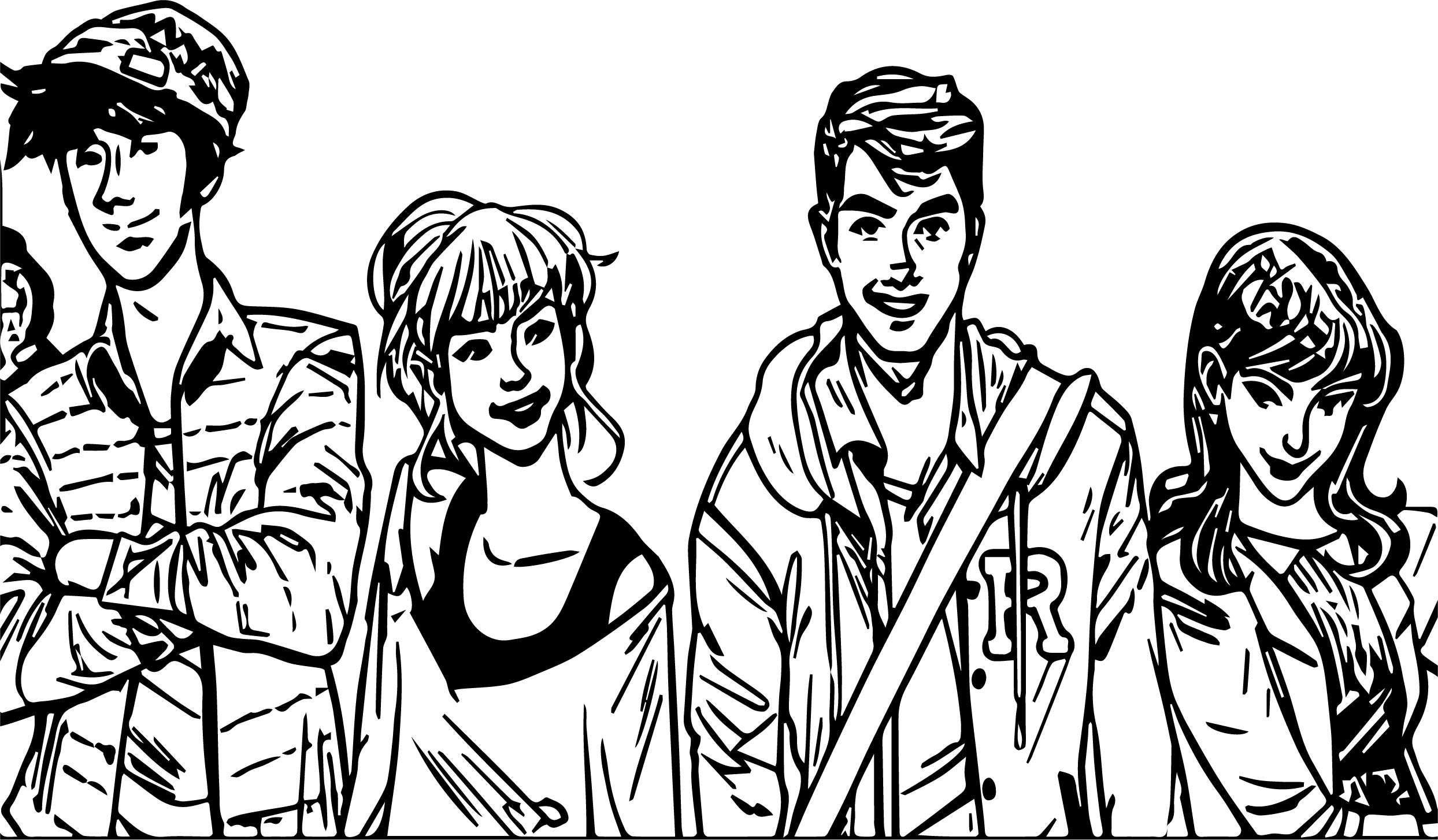 Riverdale Cast Making Big Changes To Archie Comic Characters Coloring Page