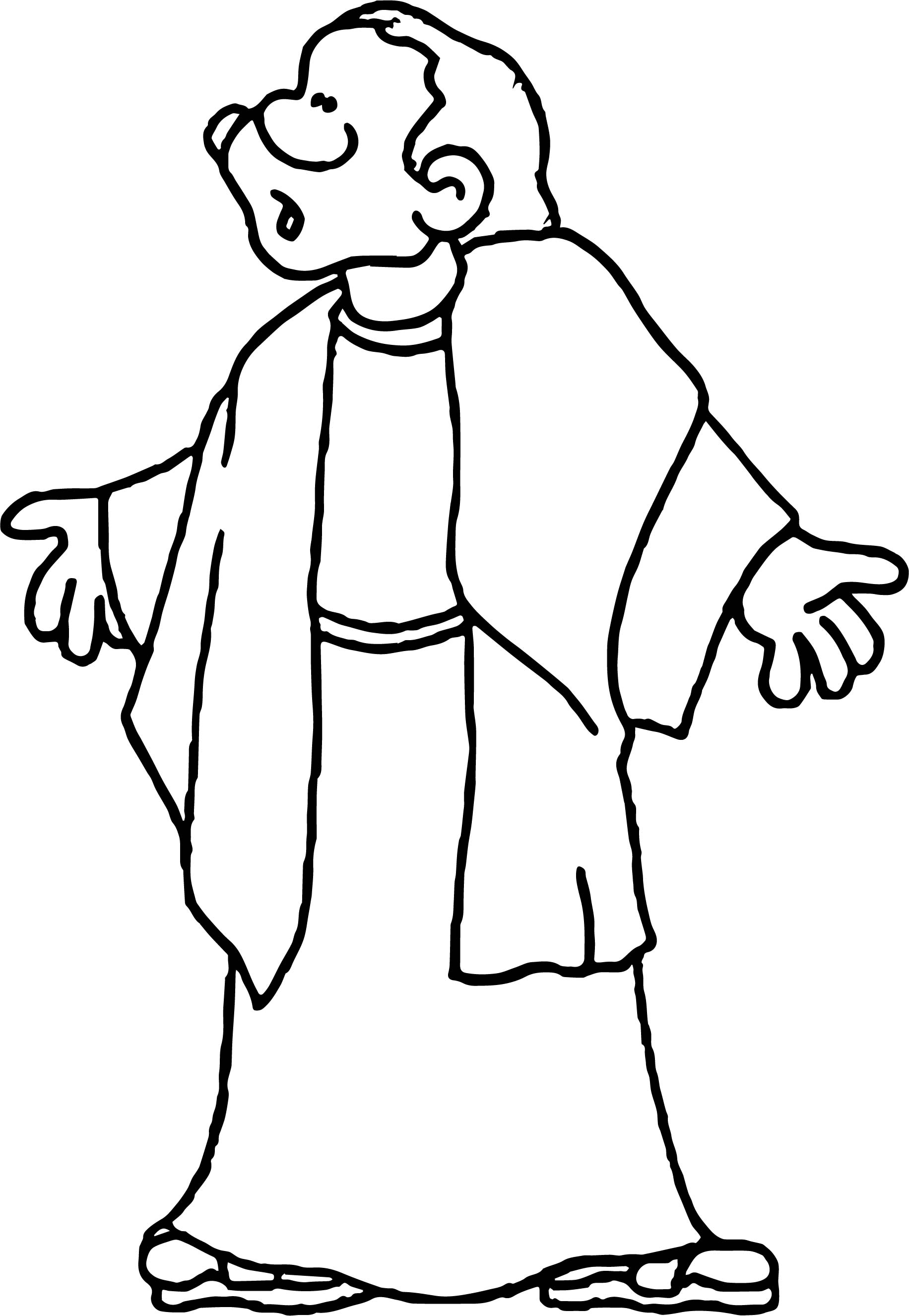 Apostle paul coloring page coloring pages for Apostle paul coloring page