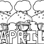 Sobriety April Coloring Page