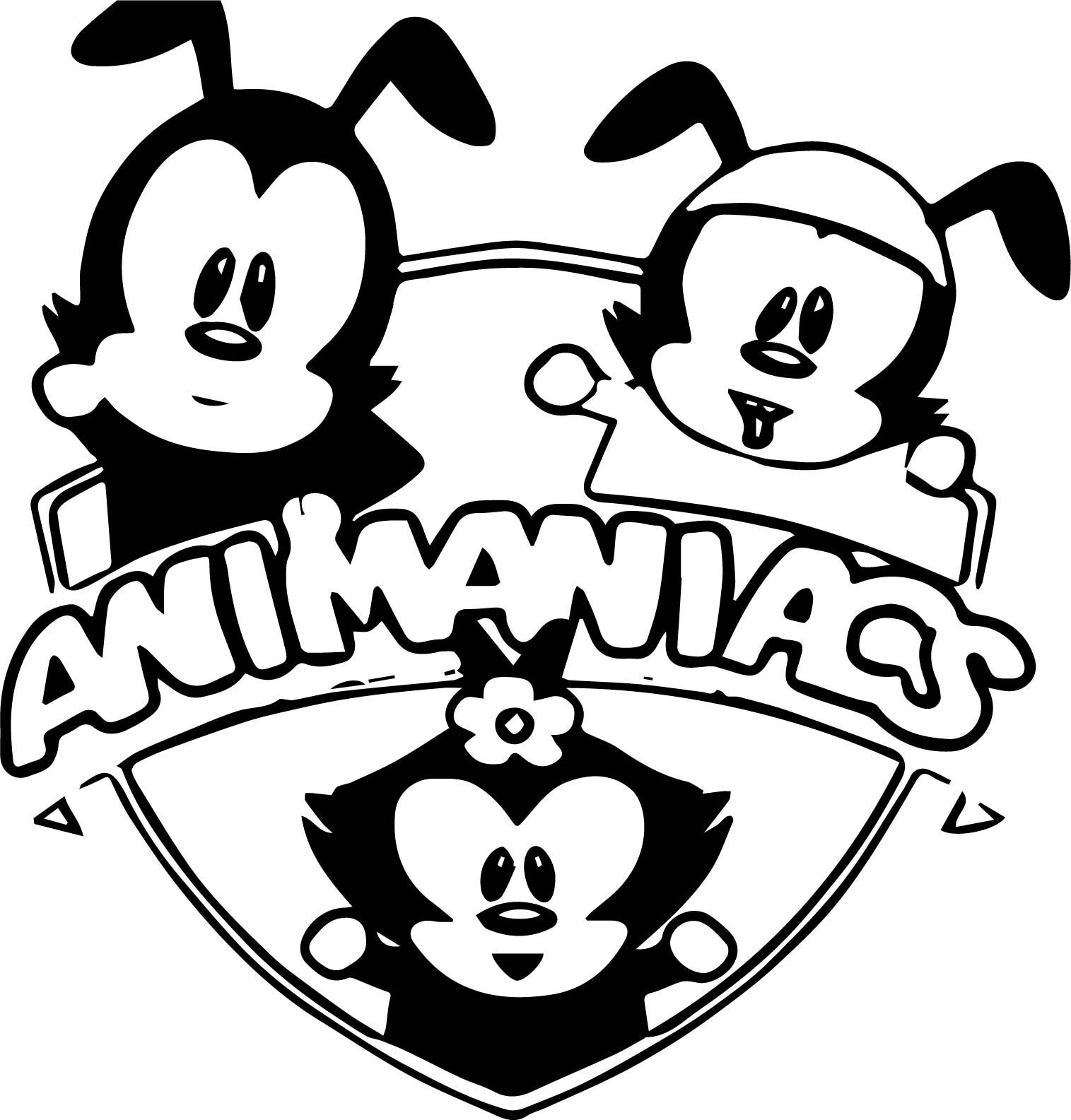 South Animaniacs Coloring Page