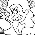 Steven Universe Cartoon Network Coloring Page