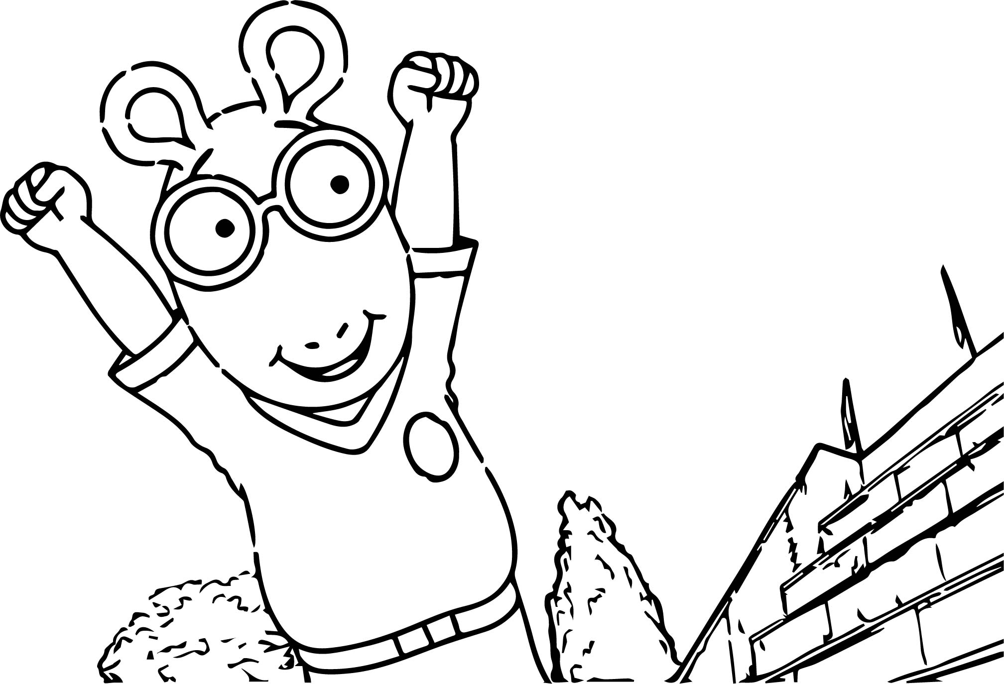 Story Secures International Arthur Coloring Page