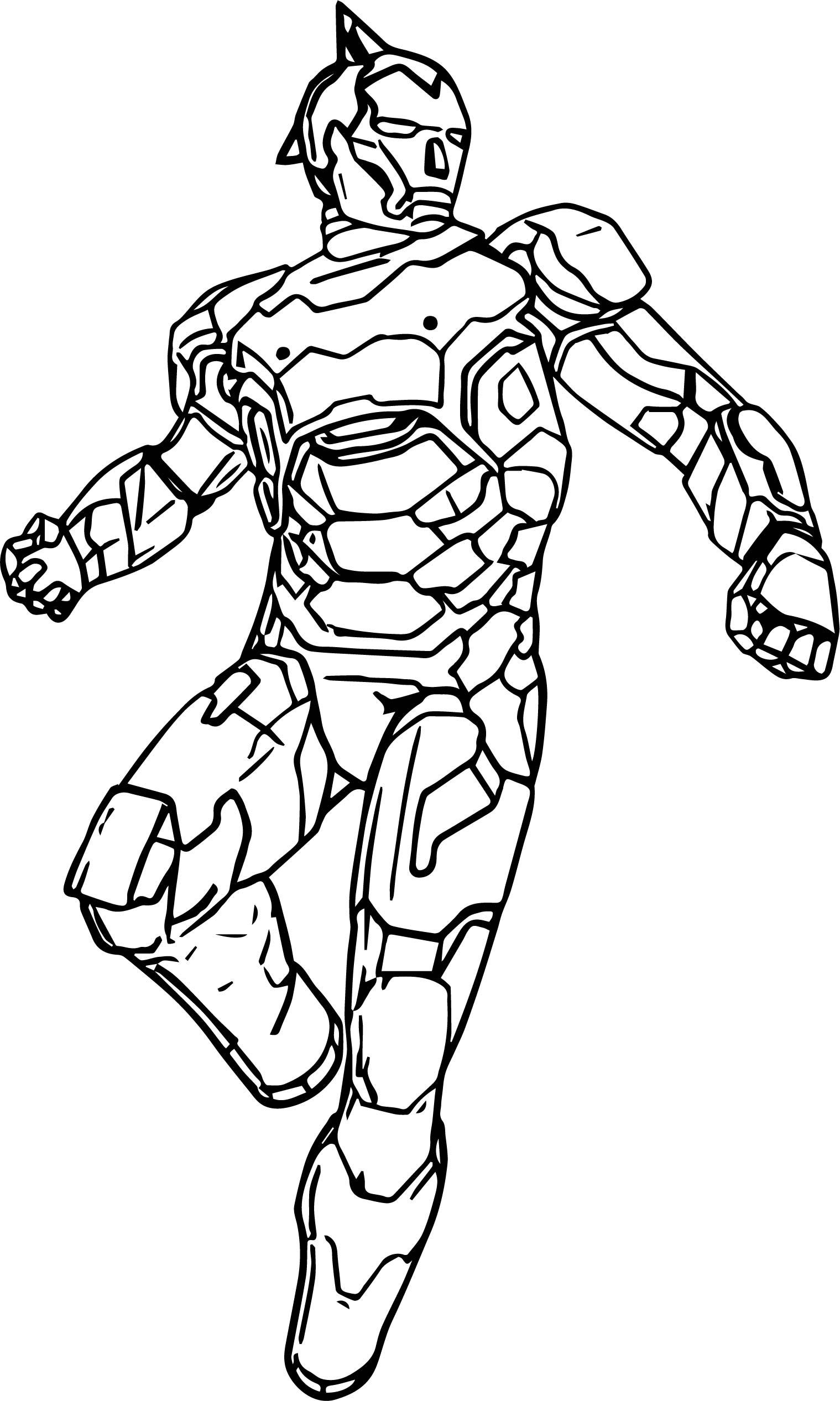 Suwan Atom Robot Astro Boy Coloring Page