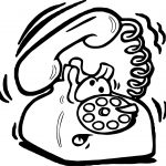 Telephone Email Frolland Coloring Page