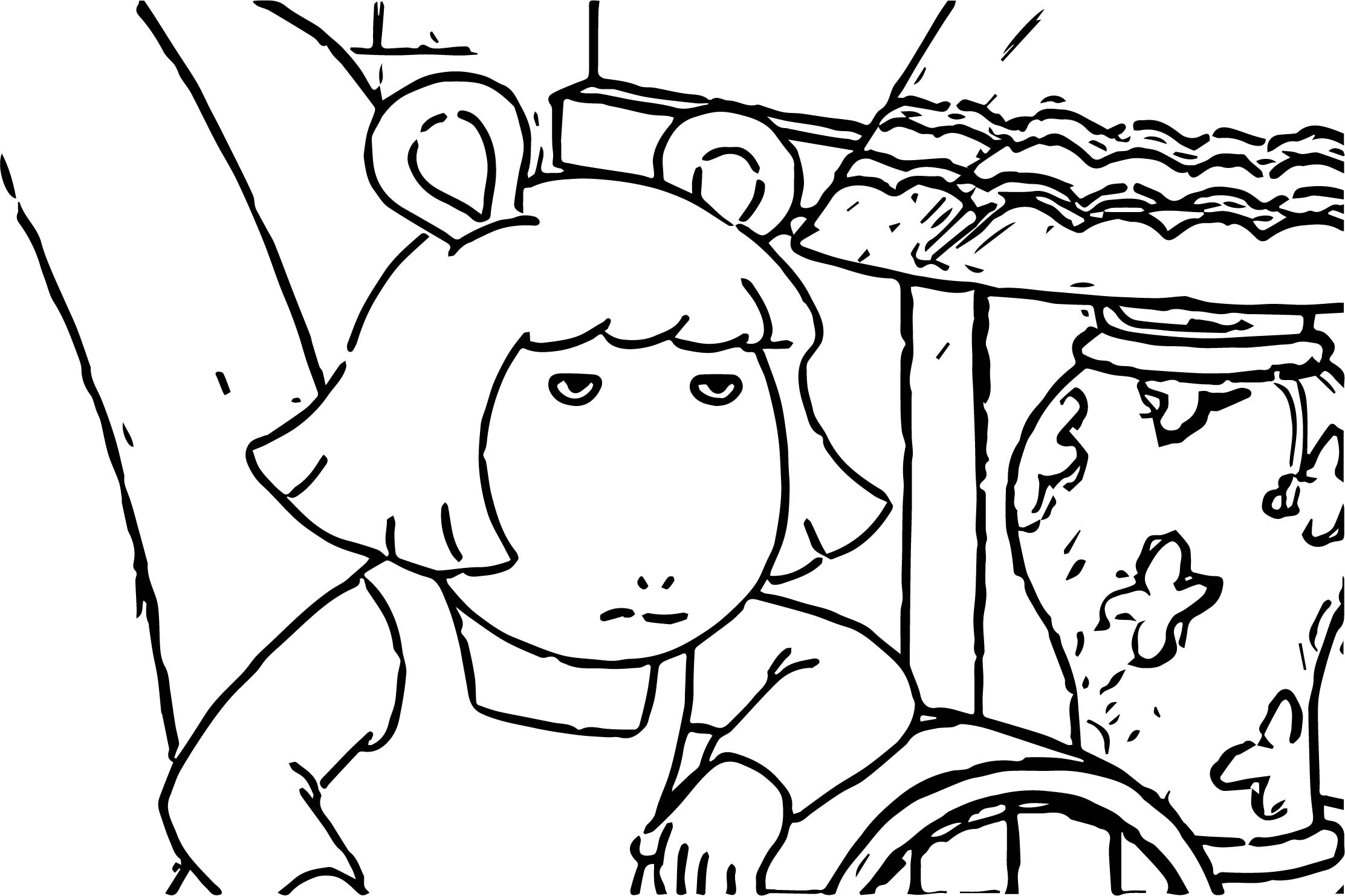 Times Arthur Perfectly Described Your Life Coloring Page