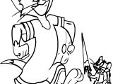 Tom And Jerry Cartoon Network Coloring Page
