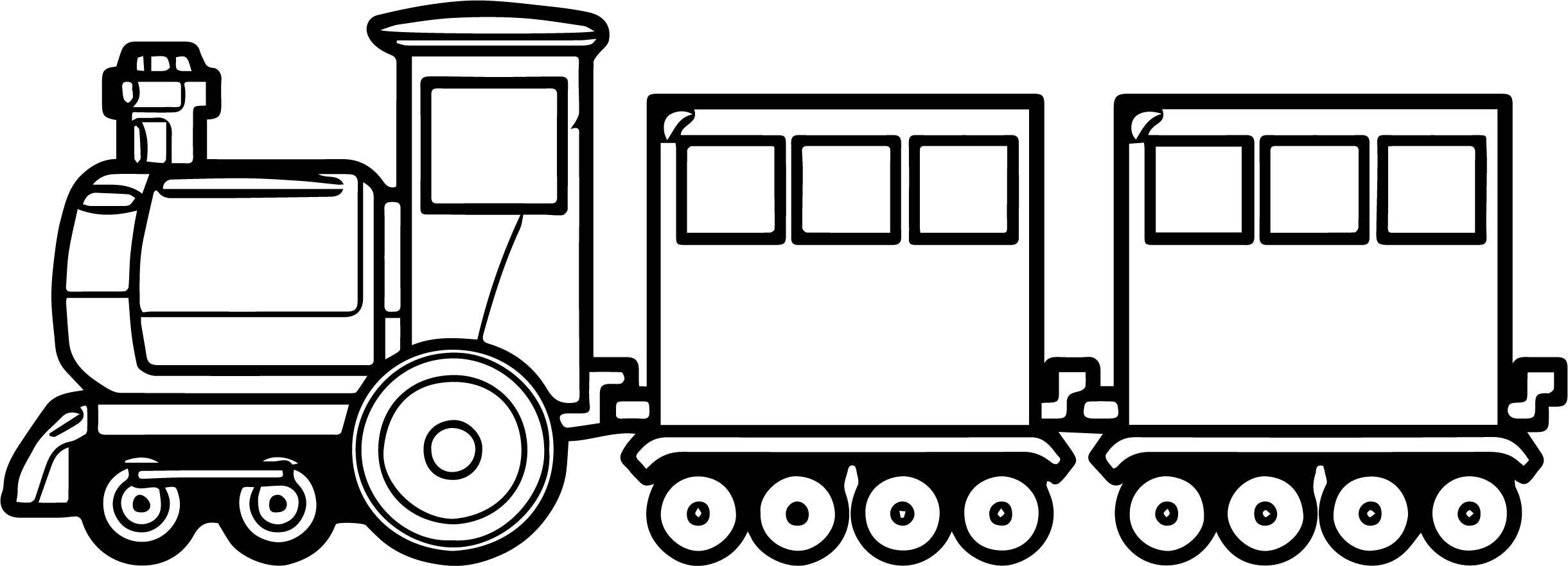 Train old toy coloring page for Toy train coloring pages