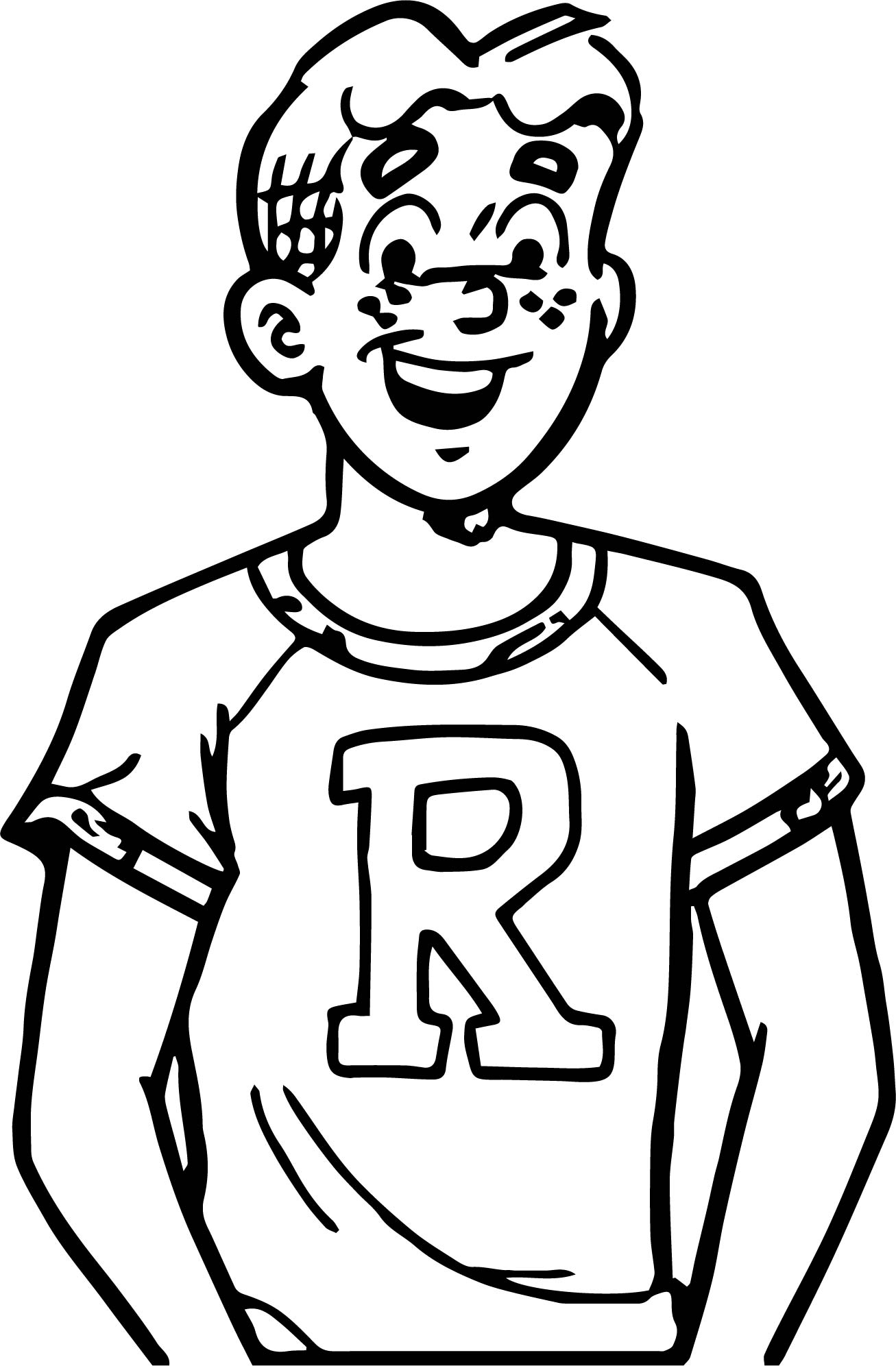 archie coloring pages - photo#22