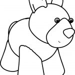 Waiting Cartoon Dog Coloring Page And Sheet
