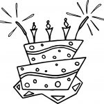 Webweaver Free Birthday Coloring Page