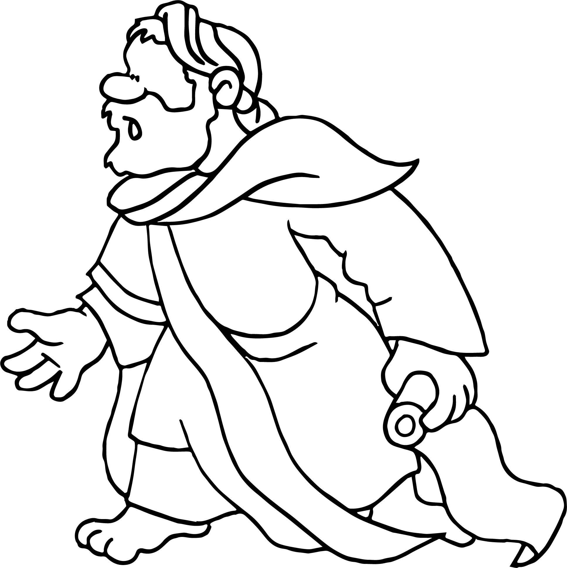 What Apostle Paul Coloring Page