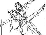 Aang And Katara Kuro Theninthson Avatar Aang Coloring Page