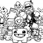 All Nintendo Coloring Page