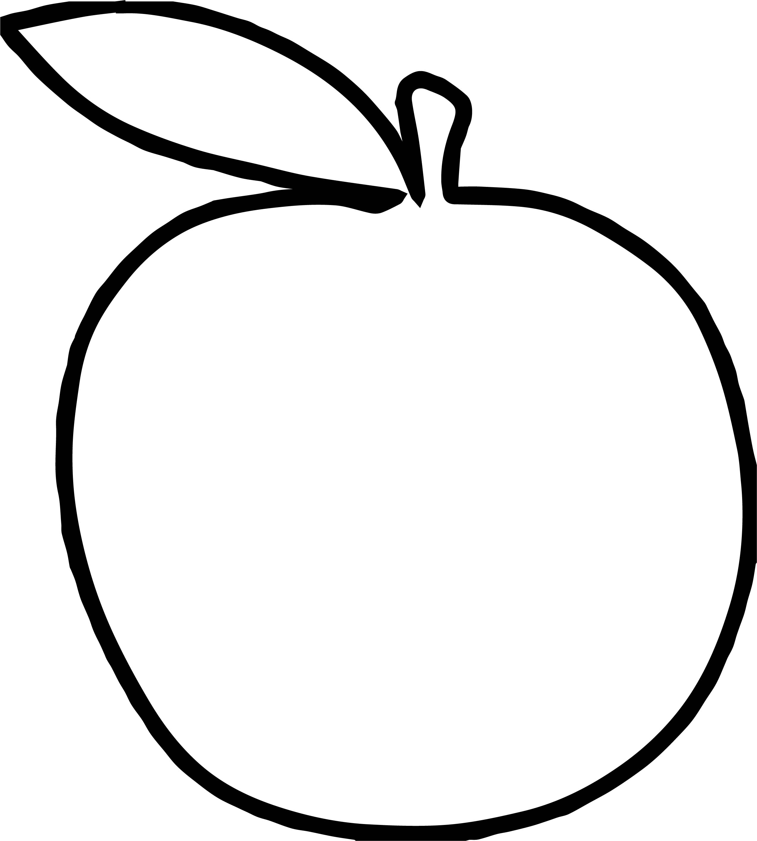 Apple Md Coloring Page